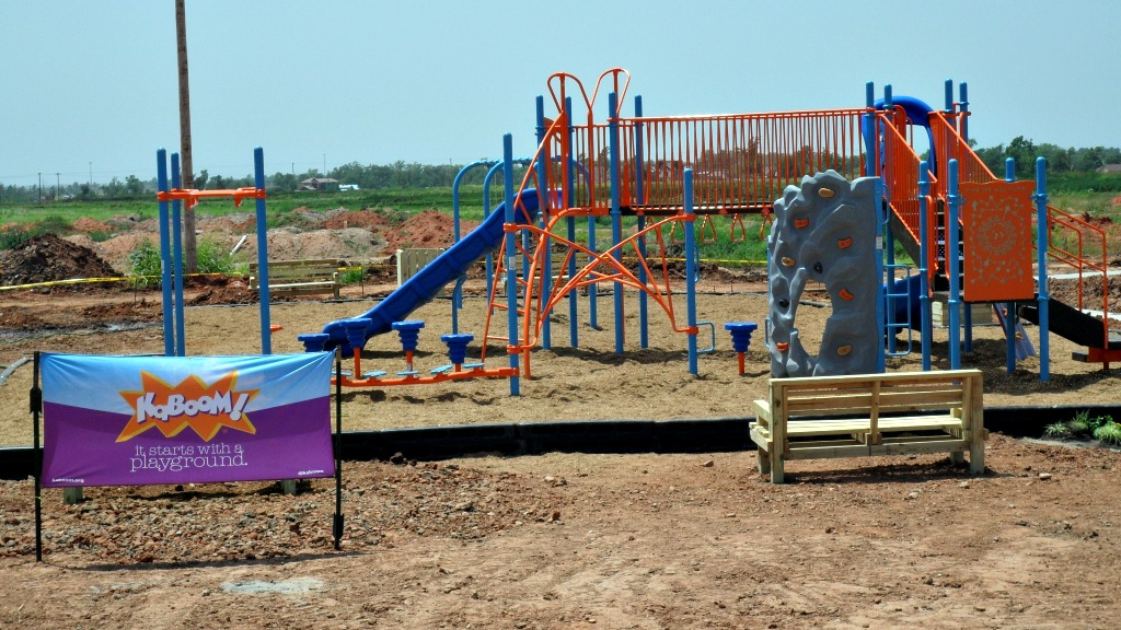 Disaster Relief Playground