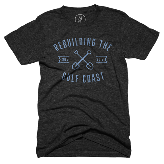 Rebuilding the Gulf Coast with Shovel in Tri-Black