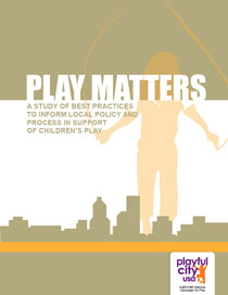 Play Matters flyer
