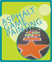 Asphalt Game Painting