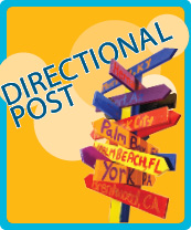 Directional Post