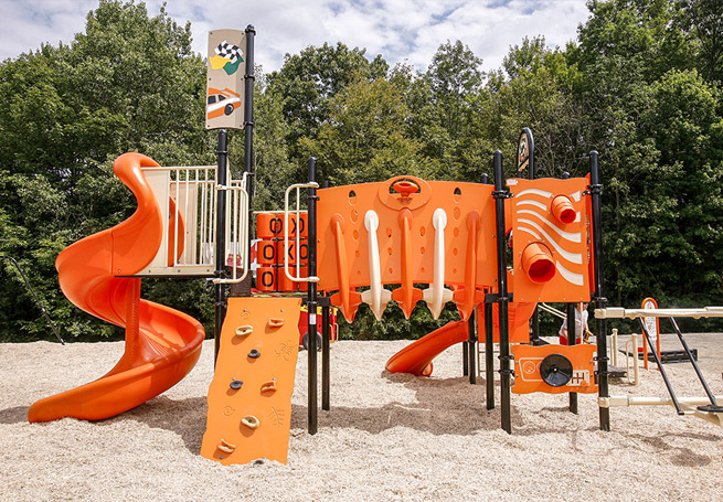 Grants Build it with KaBOOM! - orange playground