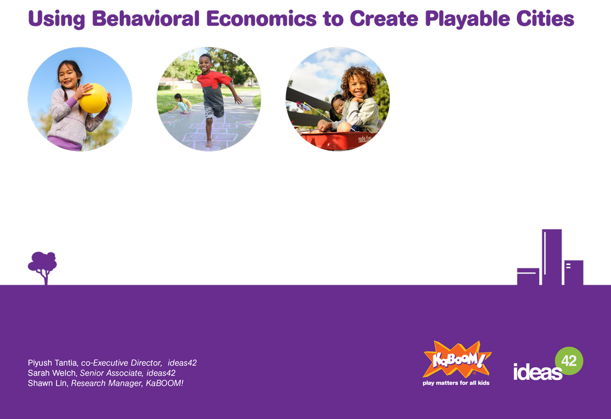 Using Behavioral Economics to Create Playable Cities