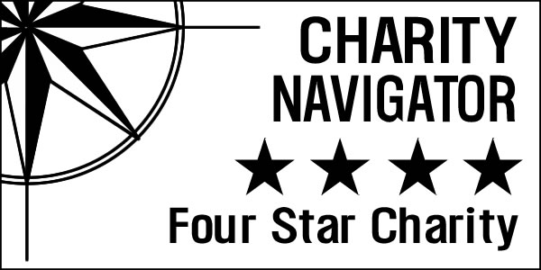 Charity Navigator 4 Star Ranked