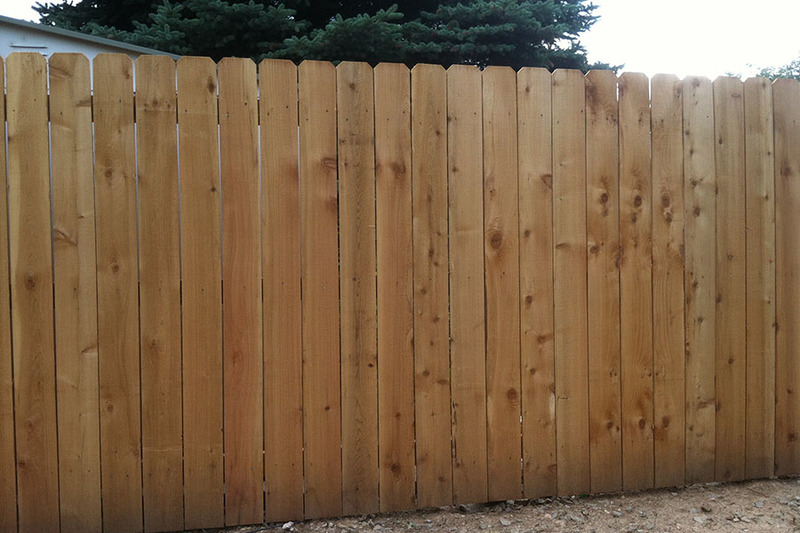 6' picket fence
