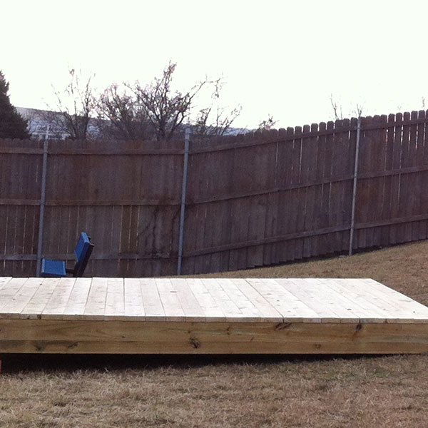 How To Build a 12' x 12' Stage