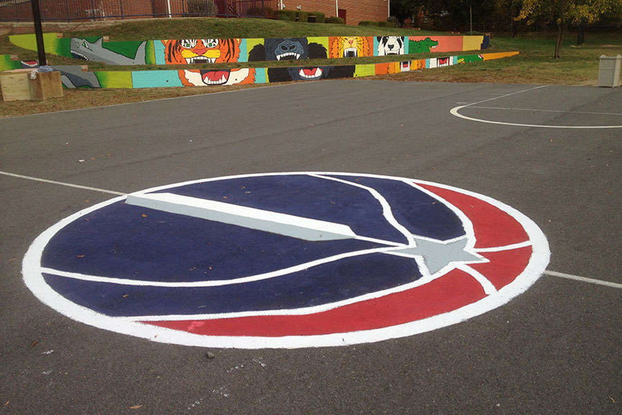How To Paint A Basketball Court Kaboom