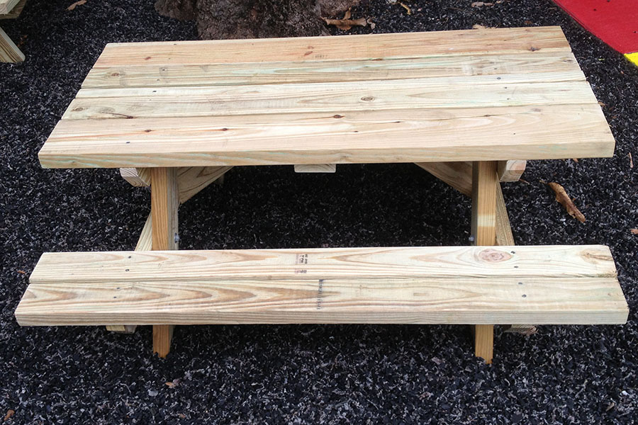 How To Build A Children S Picnic Table Kaboom