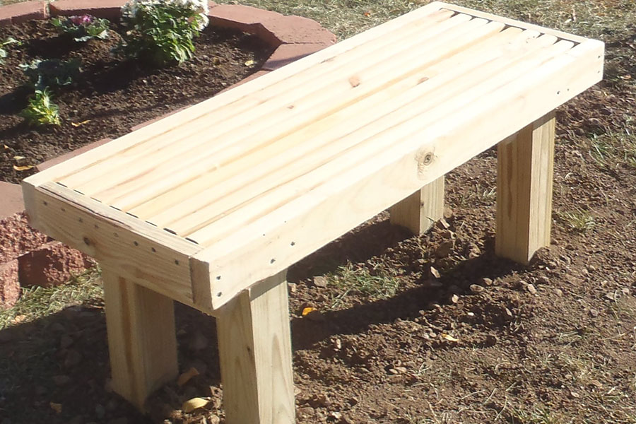 How To Build A Deck Bench Kaboom
