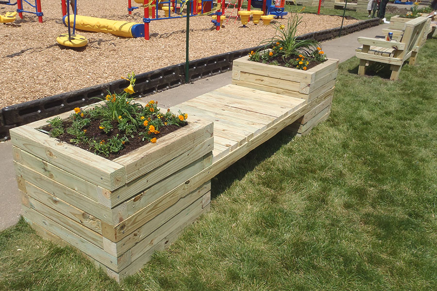 Awe Inspiring How To Build A Planter Bench Kaboom Caraccident5 Cool Chair Designs And Ideas Caraccident5Info