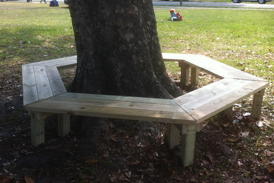 How To Build A Tree Bench Diy Play Projects Kaboom