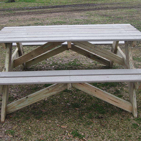How To Build an Adult-Sized Picnic Table