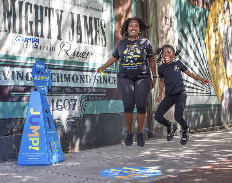 Upswing: Retractable Jump Ropes and Sidewalk Play as Neighborhood Renewal