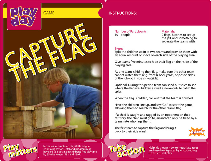 Capture the Flag Information Card