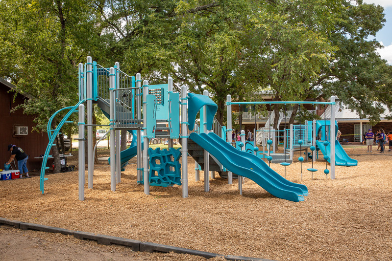 Family Link's completed playground