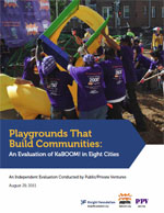 Playgrounds That Build Communities report