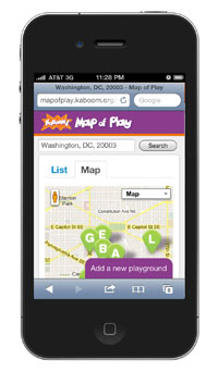 Mobile Map of Play