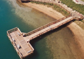 The accessible pier