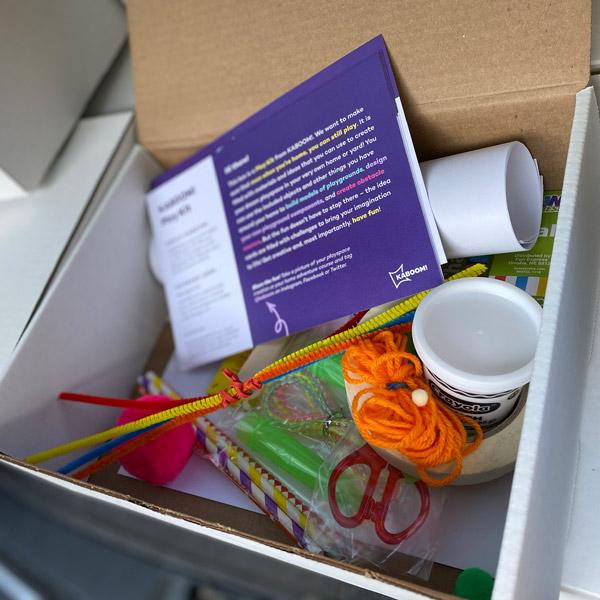 At-Home Playground Design Kit distribution