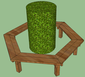 Excellent How To Build A Tree Bench Diy Play Projects Kaboom Ibusinesslaw Wood Chair Design Ideas Ibusinesslaworg