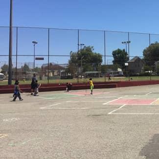 Franklin Elementary's playspace 2019 blacktop